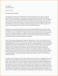 Application Letter For Scholarship Example Templates Doc Free Amp