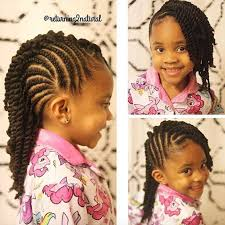 Hairstyles For Little Kids Flat Twist Hairstyle For Kids Http Wwwblackhairinformation