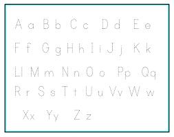 Free Printable Alphabet Tracing Sheets for Kindergarten Preschool ...