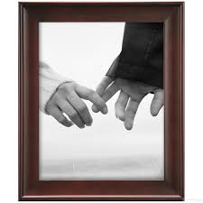 walnut lexington desk frame from mcs®  picture frames photo