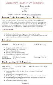 Analytical Chemist Resume Chemist Resume Cover Letter Chemist Cover Letter Examples For