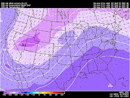 300 Mb Heights And Temperatures Model Mode