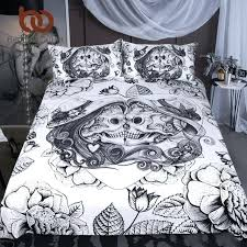 skull bedding set canada skull bedding set king top rated boy duvet cover vintage bedclothes skull bedding