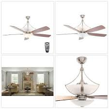 """CEILING FAN WITH LIGHT Brookedale II 60"""" Indoor <b>Unique Style</b> ..."""