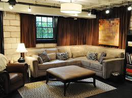 unfinished basement lighting ideas. Pretty And Playful. HGTV Fan Trendytoes Transformed Her Unfinished Basement Lighting Ideas T