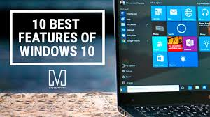 Window 10 Features 10 Best Features Of Windows 10 Youtube