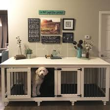dog crates as furniture. Dog Crate Table Crates As Furniture