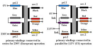 wiring toriodal mains transformers 480v to 240v transformer wiring diagram at Wiring A Transformer Diagram