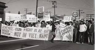 chicano movement geography antiwar 31 1970 seattle two months after the death of reuben salazar in the los angeles chicano moratorium protest