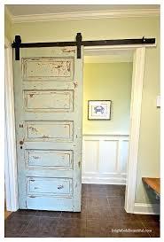barn door style interior doors sliding