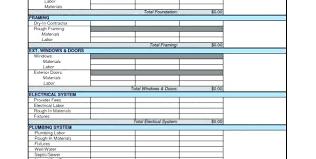 Construction Estimate Template Excel Construction Estimate Template