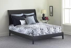 amazoncom java platform bed with wood frame and sleigh headboard