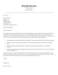 Cover Letter For Hotel Industry Job Application Letter For Hotel