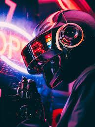 Thomas Bangalter Cosplay with my brother : DaftPunk in 2020   Thomas  bangalter, Retro futurism, Cyberpunk aesthetic