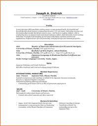 Resumes On Microsoft Word 2007 Resume Template Microsoft Word 2007 Resume Examples In