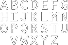 Coloriage Alphabet Imprimer Dessin Colorier De Alphabet A Imprimer L