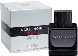 <b>Lalique Encre Noire Sport</b> 100ml in duty-free at airport Boryspil ...