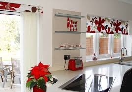 Fabric Kitchen Curtains Popular Railing Stairs And Kitchen Design Gorgeous Kitchen Curtains Ideas