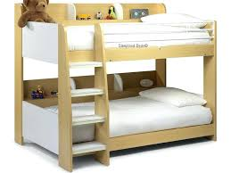 bed with shelves domino bunk shelf uk