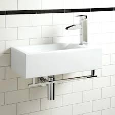 small wall sink statue of small wall mounted sink a good choice for space challenged bathroom
