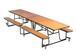 school rectangle table. School Rectangle Table Mobile Bench Cafeteria By Tables .