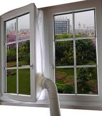 Aozzy Airlock 100 Fensterabdichtung Für Mobile Klimageräte Luftentfeuchter Und Ablufttrockner Hot Air Stop Preisluchscom