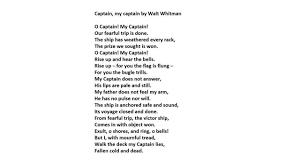 dead poets society o captain my captain essay