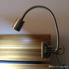 desk limelights flexible gooseneck led clip light desk lamp led clip desk lamp 2017 metal