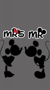 ミッキーマウスとミニーマウスのかわいいキスシーンiphone壁紙 Iphone 5