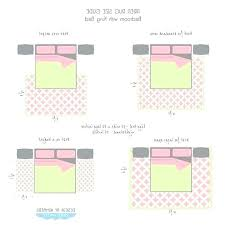 bedroom rug size choose area rug size for queen bed king photo of bedroom area rug