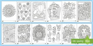 Introduces 4 exotic animals and 10 colours. Free Mindfulness Colouring Sheets Bumper Pack For Children