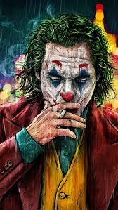 Joker Smoking Portrait, HD wallpaper ...