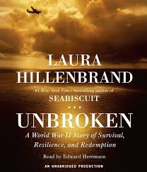 amazon unbroken a world war ii story of survival resilience and redemption 9780739319697 laura hillenbrand edward herrmann books