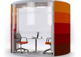 office meeting pods.  Office Air3 Half Round Meeting Pods With Office