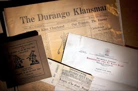 kkk membership booming archived materials from the ku klux klan at the center of southwest studies at fort lewis college the collection includes klan newspapers from the early