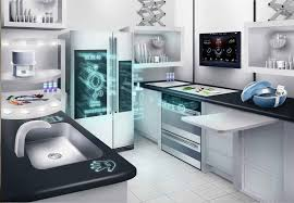 Technology Kitchen Design Network Connected Appliances For Future Kitchens