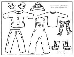 winter clothes coloring pages printable_87710 coloring pages clothes winter printable coloring pages on coloring pages clothes printable