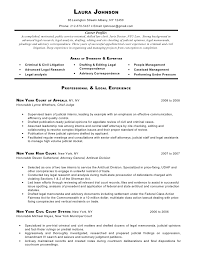 environmental law attorney resume corporate and contract law clerk resume