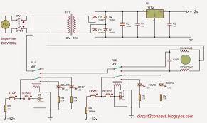 forward reverse 3 phase ac motor control wiring diagram throughout single phase forward reverse switch at Wiring Diagram For Forward Reverse Single Phase Motor