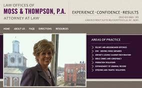 P. R. Moss, Attorney - Portfolio: Biz Tools One Web Design