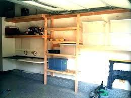 how to build garage shelves building garage shelves building storage shelves in garage build garage shelves