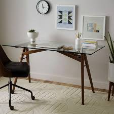 our retro inspired jensen dining table was such a clear winner that we decided to home office deskskitchen officeoffice spacesglass top