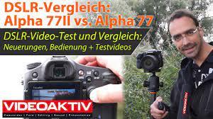 Sony Alpha 77II - die DSLR-Kamera für Fotografen und Filmer - YouTube