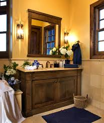 bathroom vanity lighting design in traditional style using small shape and wooden vanity decoration ideas for