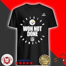 Anonymous asked in dining out. Steelers Afc North Champs We Not Done Shirt Hoodie Sweater Long Sleeve And Tank Top