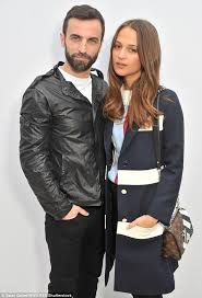 louis vuitton current designer. getting on famously: alicia also cosied-up to nicolas ghesquière - the french fashion louis vuitton current designer e