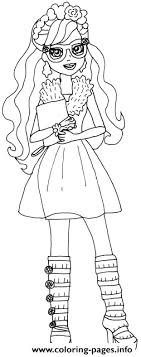 Small Picture Rosabella Beauty Ever After High Coloring Pages Printable