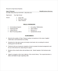 10+ High School Resume Templates, Examples, Samples Format | Free ...