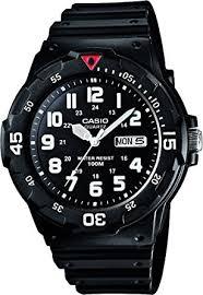casio men s watch mrw 200h 1bves amazon co uk watches