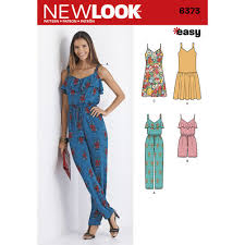 Simplicity Jumpsuit Pattern Gorgeous New Look Jumpsuit Or Romper And Dresses 48 The Fold Line